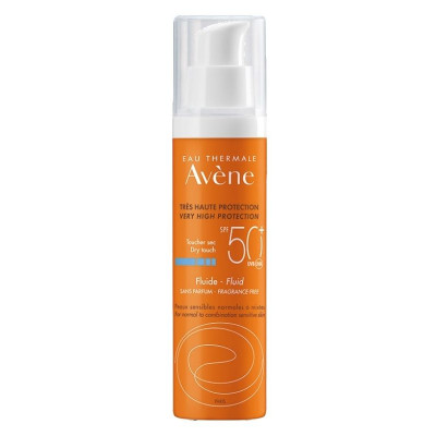 Avene Fluid Sunscreen SPF50+ 50ml