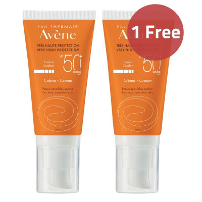 Avene Suncare SPF50+ Cream Offer