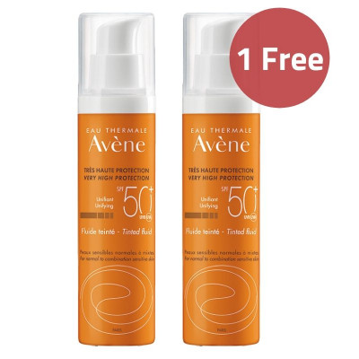 Avene Tinted Fluid Sunscreen Offer