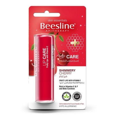 Beesline Lip Care Shimmery Cherry 4g