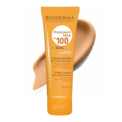 Bioderma Photoderm Golden Tinted Cream Sunscreen SPF100 40ml