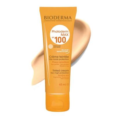 Bioderma Photoderm Light Tinted Cream Sunscreen SPF100 40ml