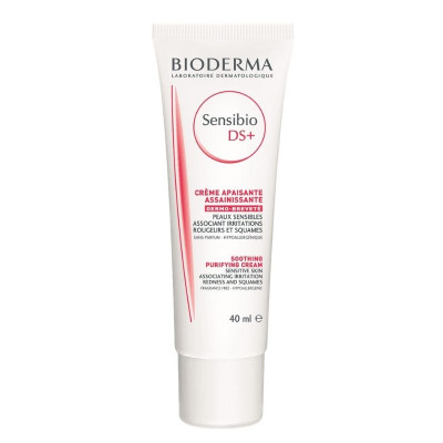 Bioderma Sensibio DS+ Soothing Purifying Cream 40ml