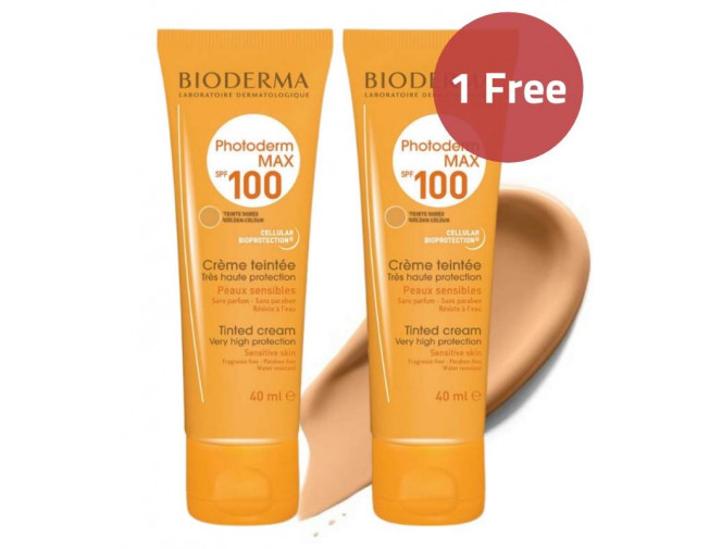 Bioderma Photoderm Golden Tinted Sunscreen SPF100 40ml Offer