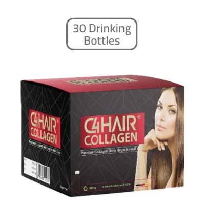 C4 Collagen HAIR Supplements 30 Drinking Bottles
