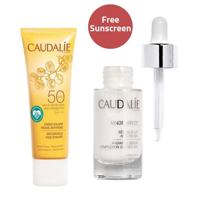 Caudalie Vinoperfect Complexion Correcting Serum & Sunscreen Set