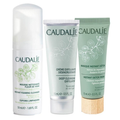 Caudalie Natural Cleansing Trio (Deluxe Size)