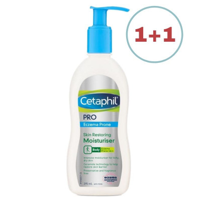 Cetaphil Eczema-Prone Skin Soothing Body Lotion 296ml