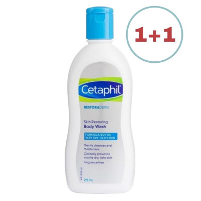 Cetaphil Restoraderm Soothing Body Wash 295ml