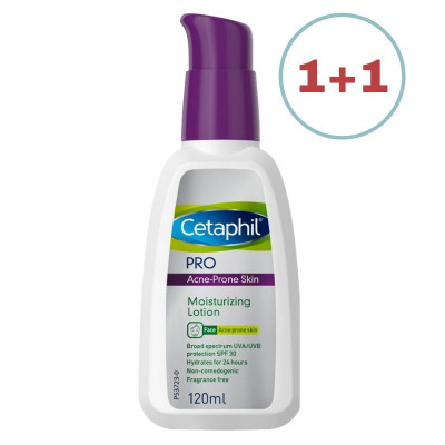 Cetaphil Acne-Prone Skin Moisturizer SPF30 120ml