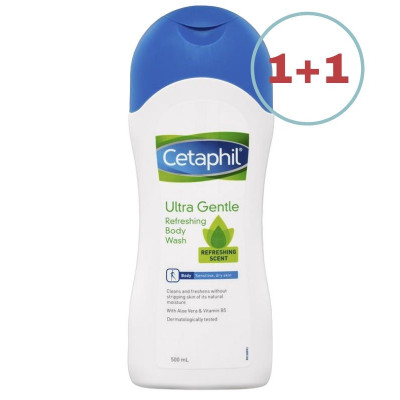 Cetaphil Ultra-Gentle Refreshing Body Wash 500ml