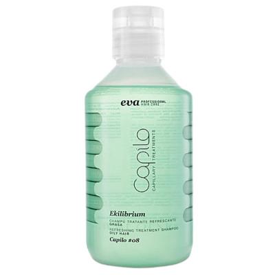 Eva Professional Ekilibrium Oily Hair Shampoo #08 300ml