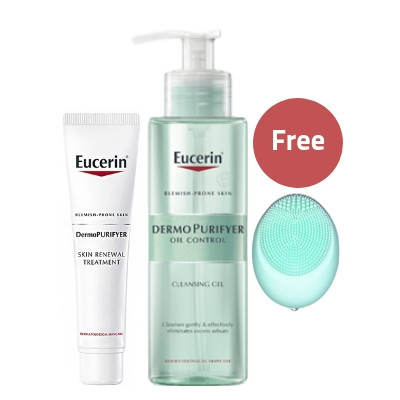 Eucerin DermoPurifyer Skin Renewal & Cleansing Gel Offer
