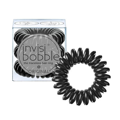 Invisibobble ORIGINAL - True Black (3 Pieces)