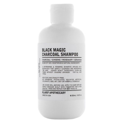 Klarif Black Magic Charcoal Shampoo 250ml