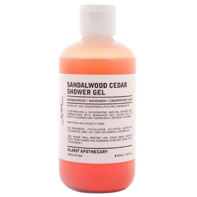 Klarif Sandalwood Shower Gel 250ml