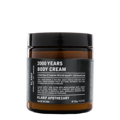 Klarif 2000 Years Classic Body Cream 125g