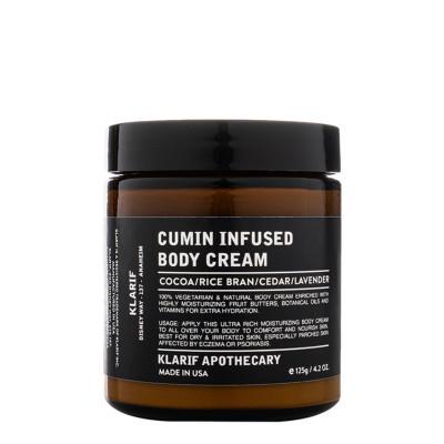 Klarif Cumin Infused Body Cream 125g