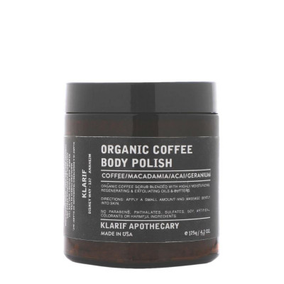 Klarif Organic Coffee Body Polish 125g