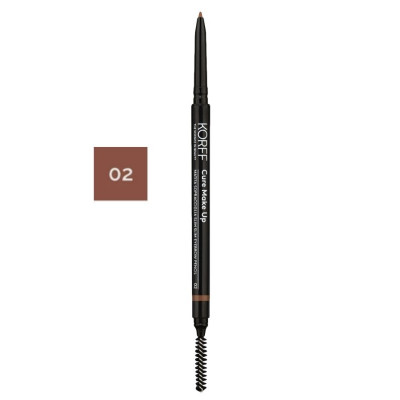 Korff Slim Eyebrow Pencil 02 Brown