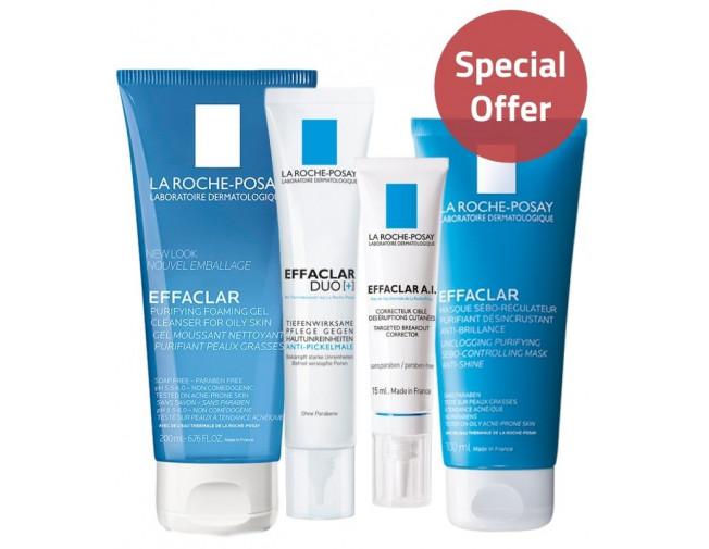 La Roche Posay Effaclar Oily Skin Set