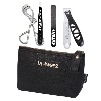 LaTweez Mini Beauty Travel Kit – Black