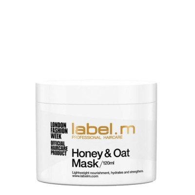 Label M Honey & Oat Treatment Mask 120ml