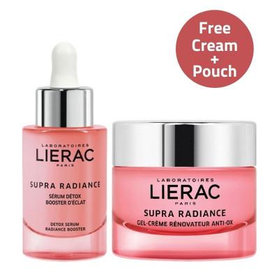 Lierac Supra Radiance GEL Cream & Serum Offer