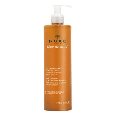 NUXE Face & Body Ultra-Rich Cleansing Gel 400ml
