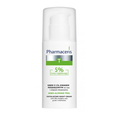 Pharmaceris Sebo-Almond Peel 5% Exfoliating Night Cream 50ml