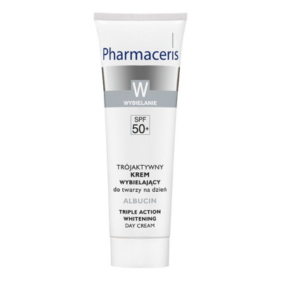 Pharmaceris Albucin Triple Action Whitening Day Cream 30ml
