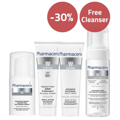 Pharmaceris Whitening & Hyperpigmentation Treatment Set