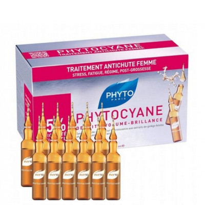 Phyto Cyane Densifying Treatment for Women (12 Ampules)