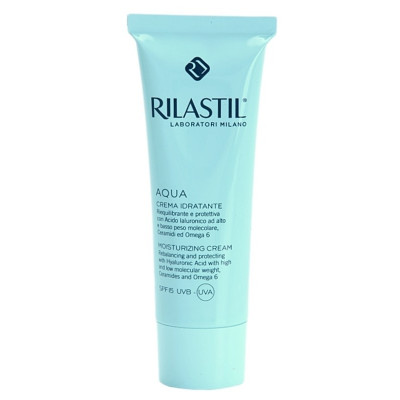 Rilastil Aqua Moisturizing Cream SPF15 50ml