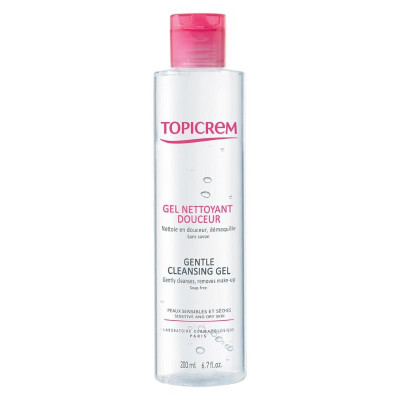 Topicrem Gentle Cleansing Gel Body & Hair 200ml