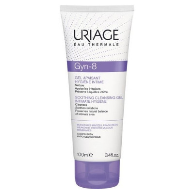 Uriage Gyn-8 Intimate Hygiene Soothing Gel 100ml