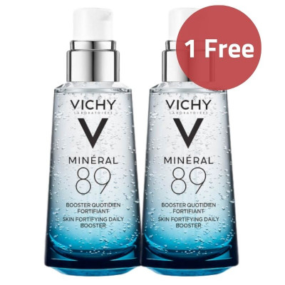 Vichy Mineral 89 Fortifying & Plumping Booster Serum 50ml