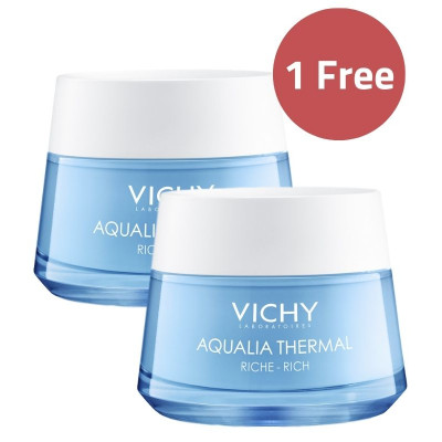 Vichy Aqualia Thermal Rehydrating Rich Day Cream 50ml