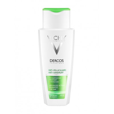 Vichy Dercos Anti-Dandruff Shampoo Dry Hair 200ml