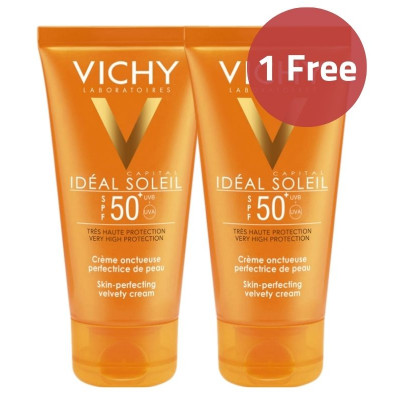Vichy Velvety Cream Sunscreen Offer