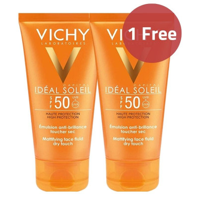 Vichy Mattifying Fluid Dry Touch Sunscreen Offer