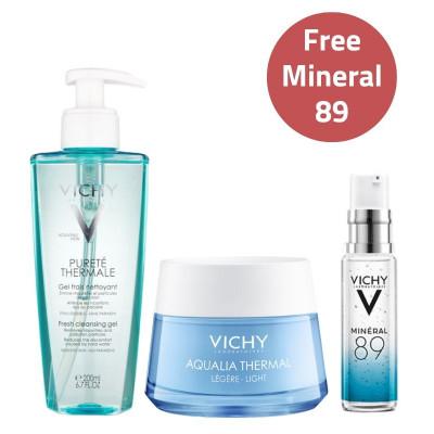 Vichy Hydration Essentials Set - Light Cream