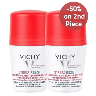 Vichy Intensive Anti-Perspirant Deodorant 50% on 2nd Piece Offer